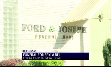 Funeral Held Today for 11-year-old Bryla Bell