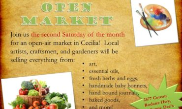 Cecilia Hosting Monthly Open Market This Saturday