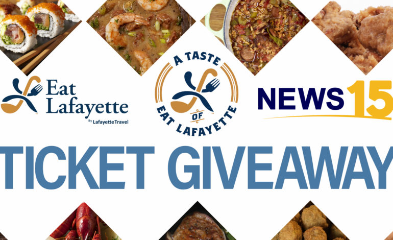 News15 Eat Lafayette Ticket Giveaway