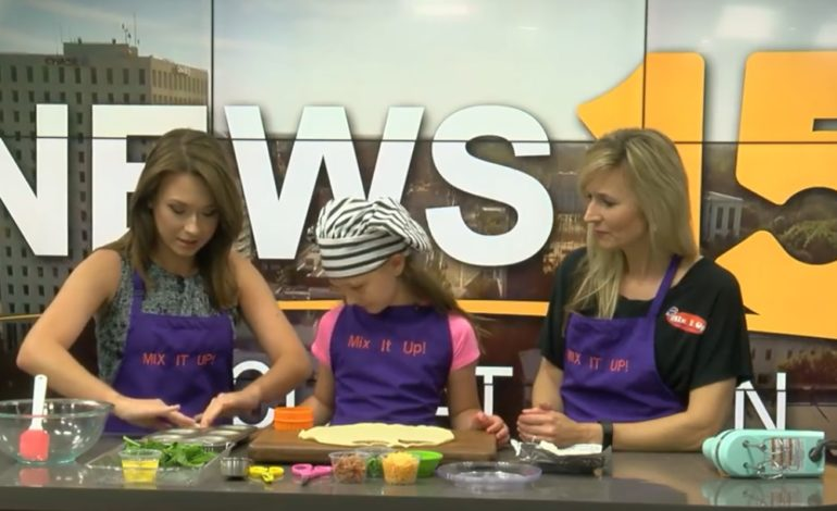 Focus At Noon- Bacon/Cheese Quiche Cups with Mix-It-Up Cooks!