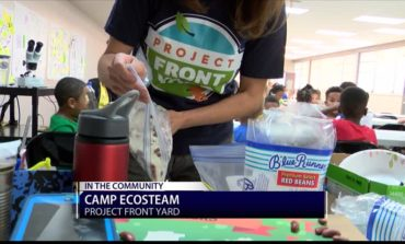 Camp EcoSTEAM inspiring kids to be enviormentally conscience