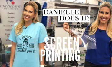Danielle Does It: Screen Printing