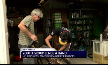 Texas youth group visits New Iberia