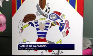 Games of acadiana poster revealed