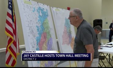 Town hall meeting in District two