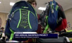 3rd annual backpack project