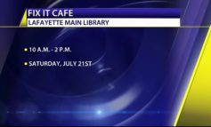 Fix-it-cafe at the Lafayette Public Library