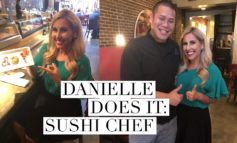 Danielle Does It: Sushi Chef at Tsunami