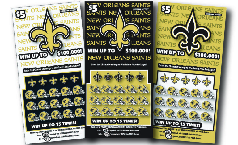 Louisiana Lottery launches 10th Saints scratch-off with
