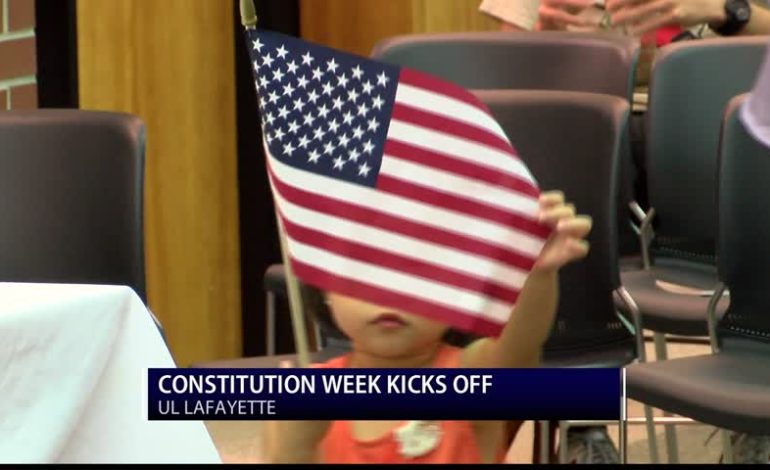 Constitution Week Kicks off With Naturalization Ceremony