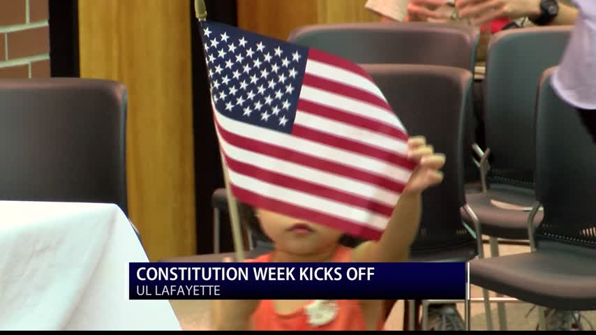 Constitution Week Kicks off With Naturalization Ceremony - News15
