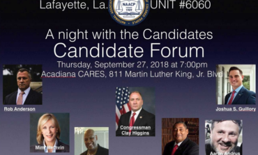 Local NAACP Holds Forum for Candidates for Louisiana's Third Congressional District