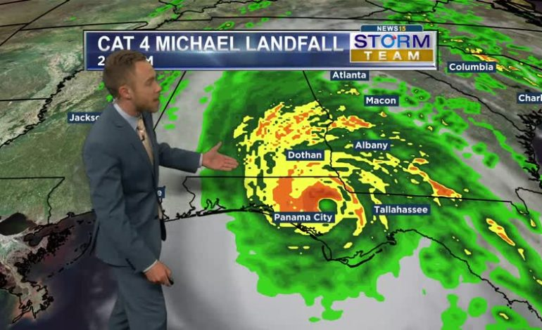 Devastating Hurricane Michael Moves Ashore