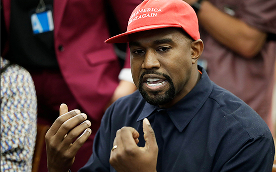 Kanye's top quotes from his White House meeting with Trump