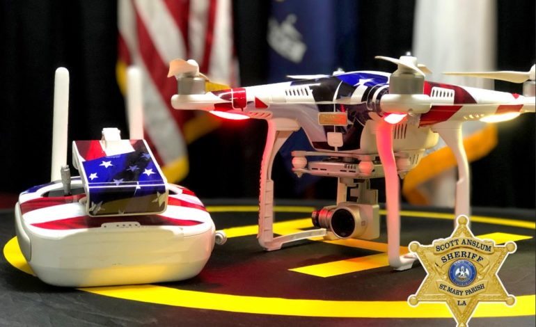 St. Mary Parish Sheriff Scott Anslum Announces new sUAS (drone) Section in the SMPSO