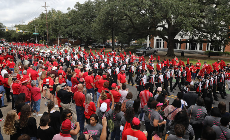 UL Lafayette Homecoming Day includes open house, parade and football