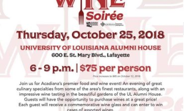 Get Tickets Now For The Acadiana Food & Wine Soiree