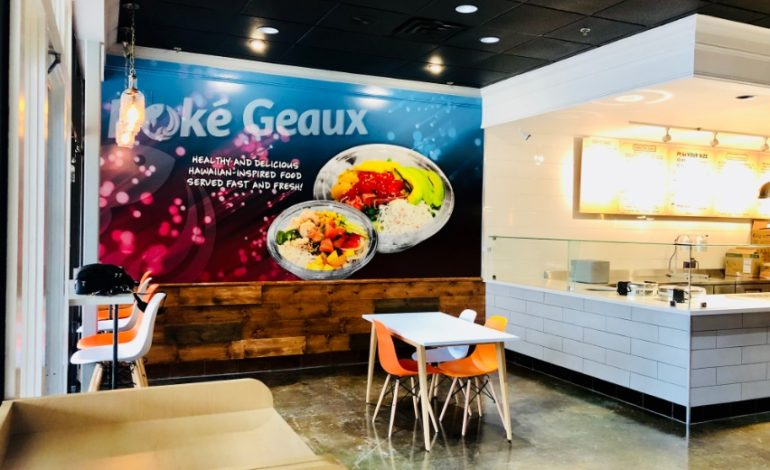 The Lunch Counter: Poke Geaux