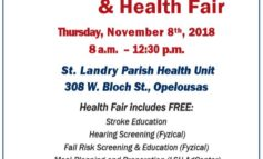 St. Landry Flu Vaccine Clinic and Health Fair