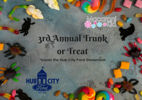 macaroni kid and hub city ford presents the 3rd annual trunk or