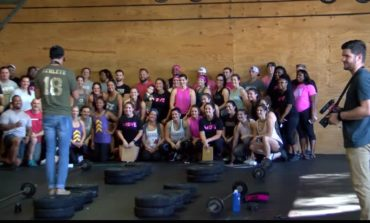 Crossfit Lafayette raises money for a local woman fighting breast cancer