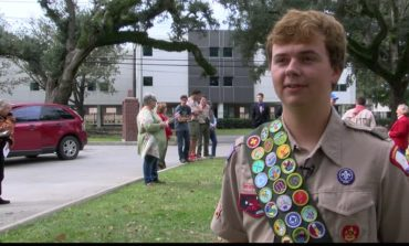 Hospice teams up with Eagle Scouts for a special monument presentation