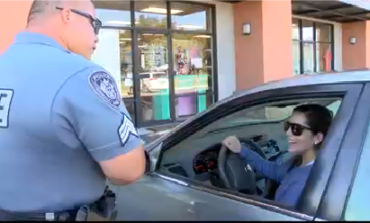 Youngsville Police Officers Surprise Drivers with Gift Cards In Lieu of Tickets