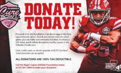News15 Today: Support Louisiana Ragin Cajuns Football in Orlando and give back at the same time!