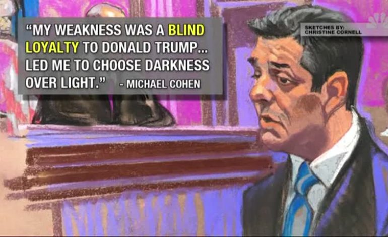 Cohen Pushes Back On Trump