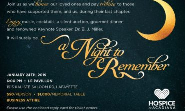"""Hospice of Acadiana hosts """"A Night to Remember"""" – 2019 Gala"""