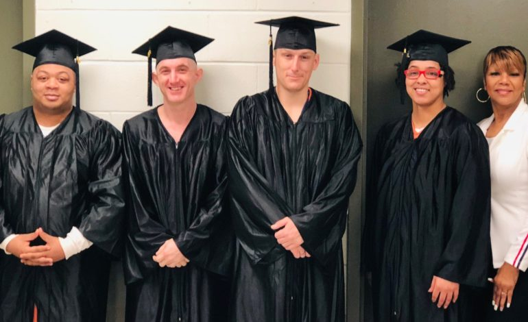 SLPSO: Inmates Continue to Earn Their High School Diplomas
