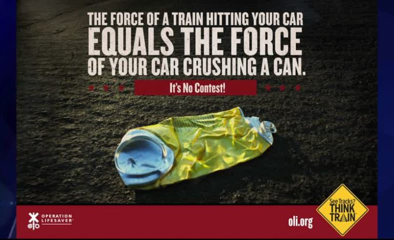 Railroad Safety: See tracks? Think train!