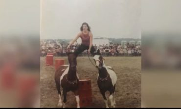 Cowgirl makes dreams come true performing in Mid-Winter Fair Rodeo