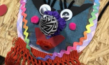 Traditional Mardi Gras mask-making for kids
