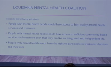 Louisiana Mental Health Coalition Bringing Mental Illness to the Forefront of State Discussion