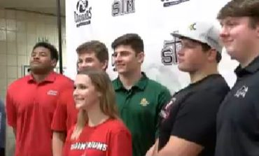 Six Cougars Earn College Athletic Scholarships