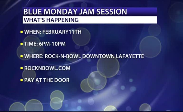 Blue Monday Jam Session, February 11th