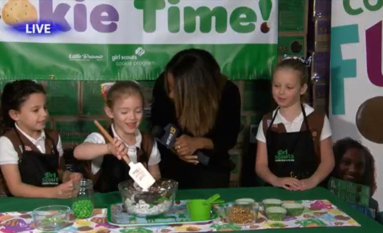 Places and Faces: Girl Scout Cookie Season