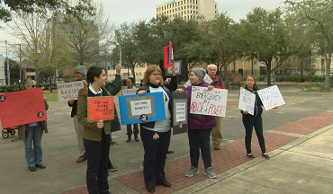 Indivisible Acadiana Joins Nationwide Movement To Protest The President's Emergency Declaration For Border Funding