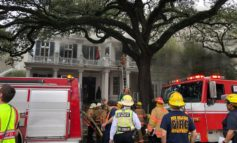 Historic New Orleans Home Known As 'The Rex House' Engulfed In Flames