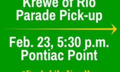Last Call for Project Front Yard and Krewe of Rio Volunteers!