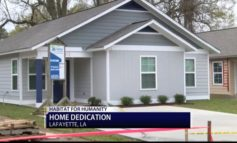 Acadiana family starts new beginning in Habitat for Humanity home