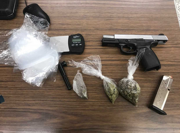 OPD seizes drugs and stolen firearm after traffic stop