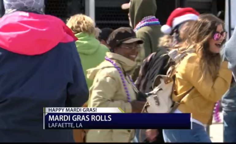 """""""This is about Cajun Country"""" Parade-goers reflect on Mardi Gras Day in Lafayette"""
