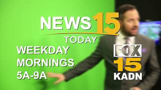 News15 Today Tuesday Morning Forecast