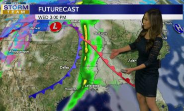 Severe Storms Possible Wednesday