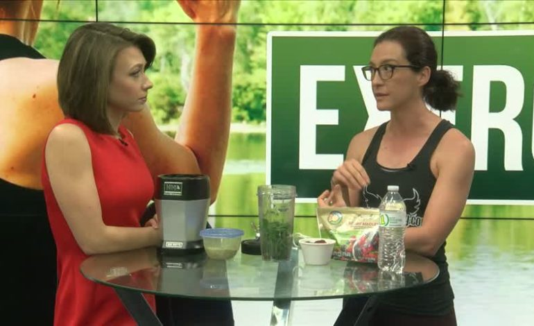 Fitness Friday: How to make a healthy smoothie with Tiffany Saltzman