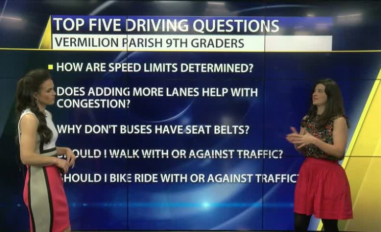 Monday Morning Traffic Minute With Ashley Moran