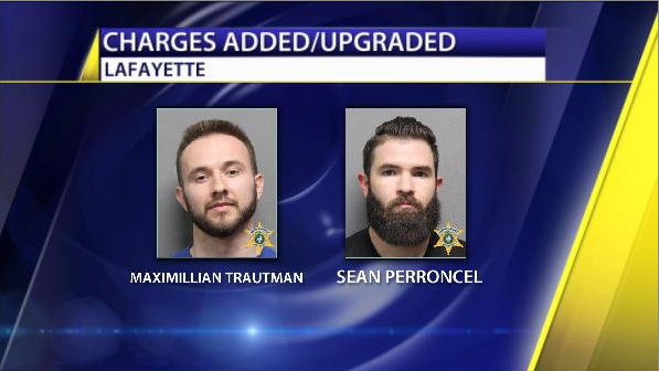 Lafayette Murder Suspects Face Upgraded Charges