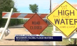 Spring Showers Bringing Lower St. Martin Parish Scattered Floods